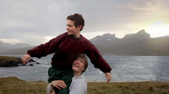 Baldur Einarsson og Blær Hinriksson fara með aðalhlutverkin í Hjartasteini. (Mynd: Ingibjörg Torfadóttir)