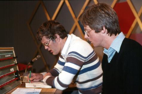 Kosningar 1978: Björn Baldursson þýðandi og dagskrárritstjóri og Bogi Ágústsson fréttamaður.