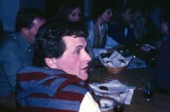 1976:78: Sigmundur Arthúrsson og fleiri á jólaglöggi.
