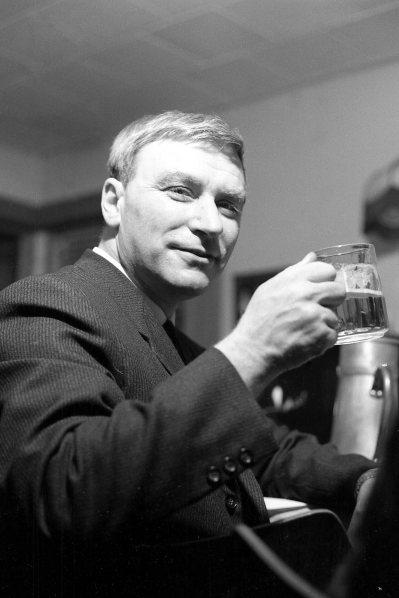 Ingvi Hjörleifsson. Hjá DR 1966.