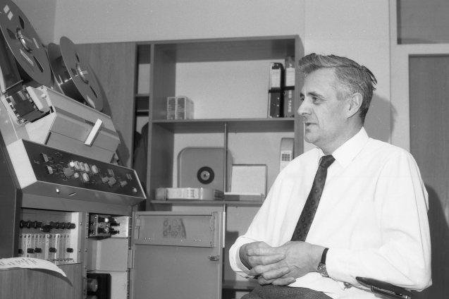 1966-68: Sigurður Einarsson yfirmaður Myndbandadeildar fyrstu árin, síðar yfir verkstæðinu.