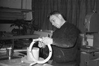 1966-68: Þórarinn Þorkelsson smiður í leikmyndadeild.
