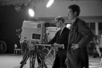 Fyrsta áramótaskaupið - 1966. Þórarinn Guðnason og Halldór Ingvason á verkstæðinu (sonur Ingva Hjörleifssonar).