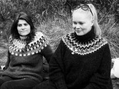 Ísold Uggadóttir og Halla Kristín Einarsdóttir voru í dómnefnd.
