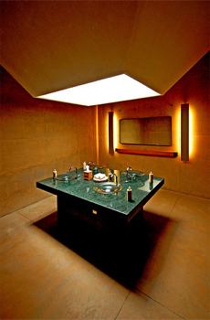 curtains kitchen freestanding pantry amangiri resort hotel & spa. canyon point, utah (usa ...