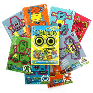 OiDroids Nuts n Bolts Set 1 cards