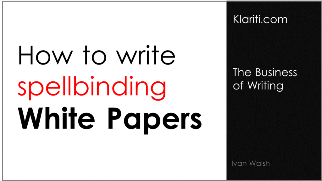 White Papers: How to Write Better Titles