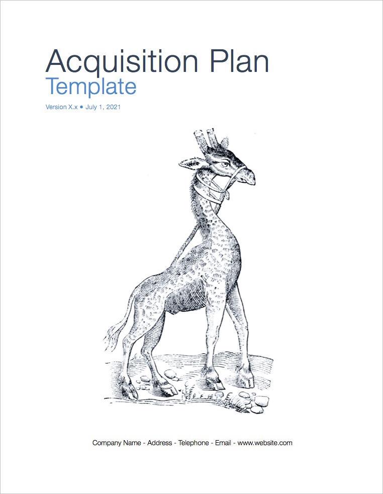 Acquisition Plan template (Apple)