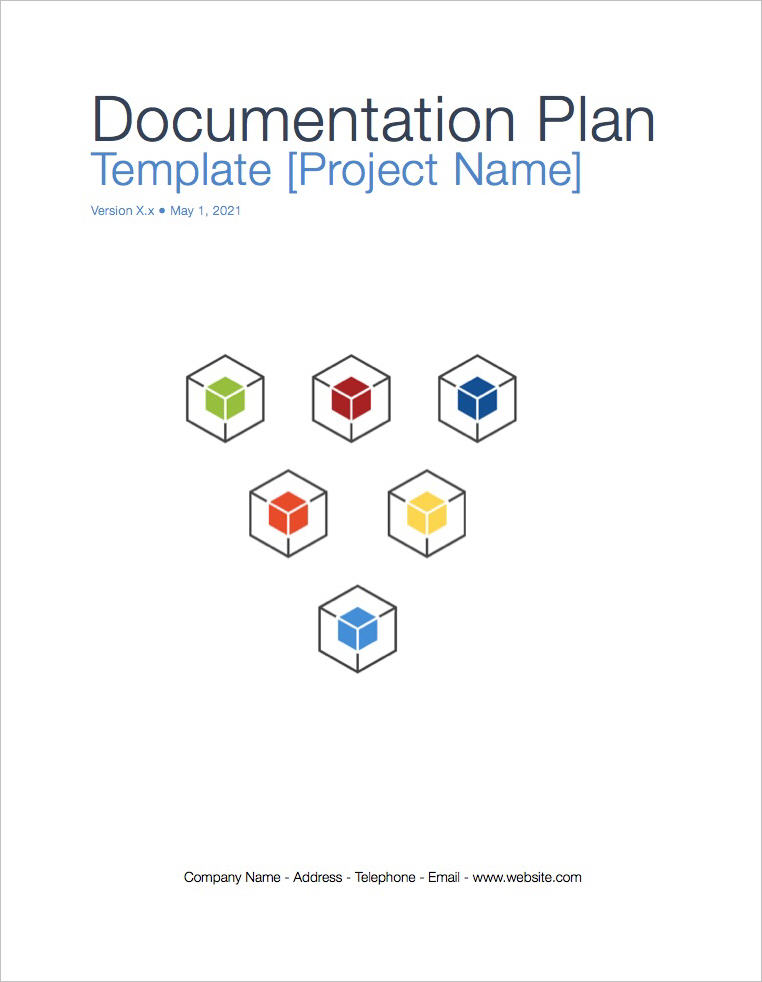Documentation Plan Template (Apple iWork Pages and Numbers)