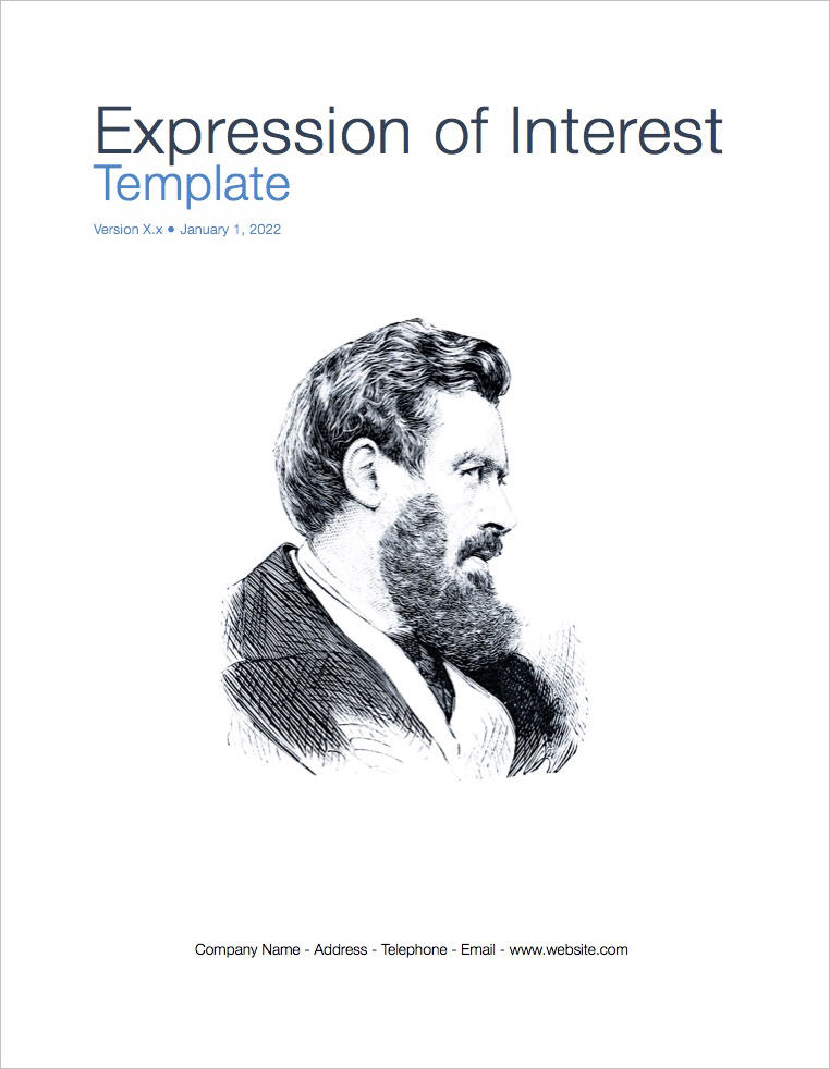 Expression of Interest Template (Apple iWork Pages)