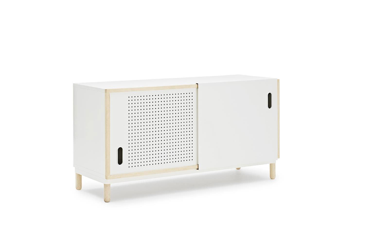 Kabino Modern Sideboard With Sliding Doors Klarityfurniture