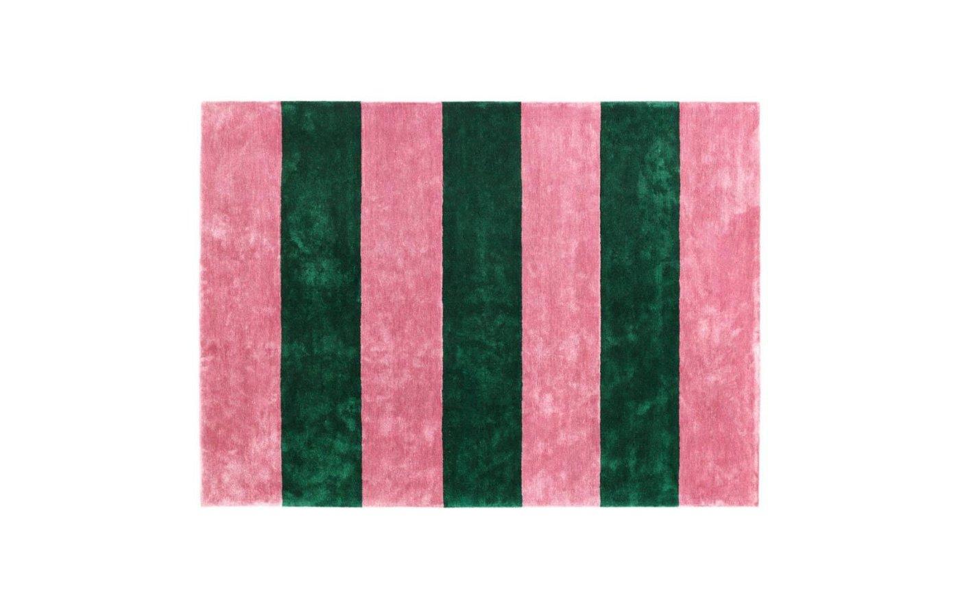 Pavilion-Carpet-200x280-normann-copenhagen-Powder-Blush-Dark-green2
