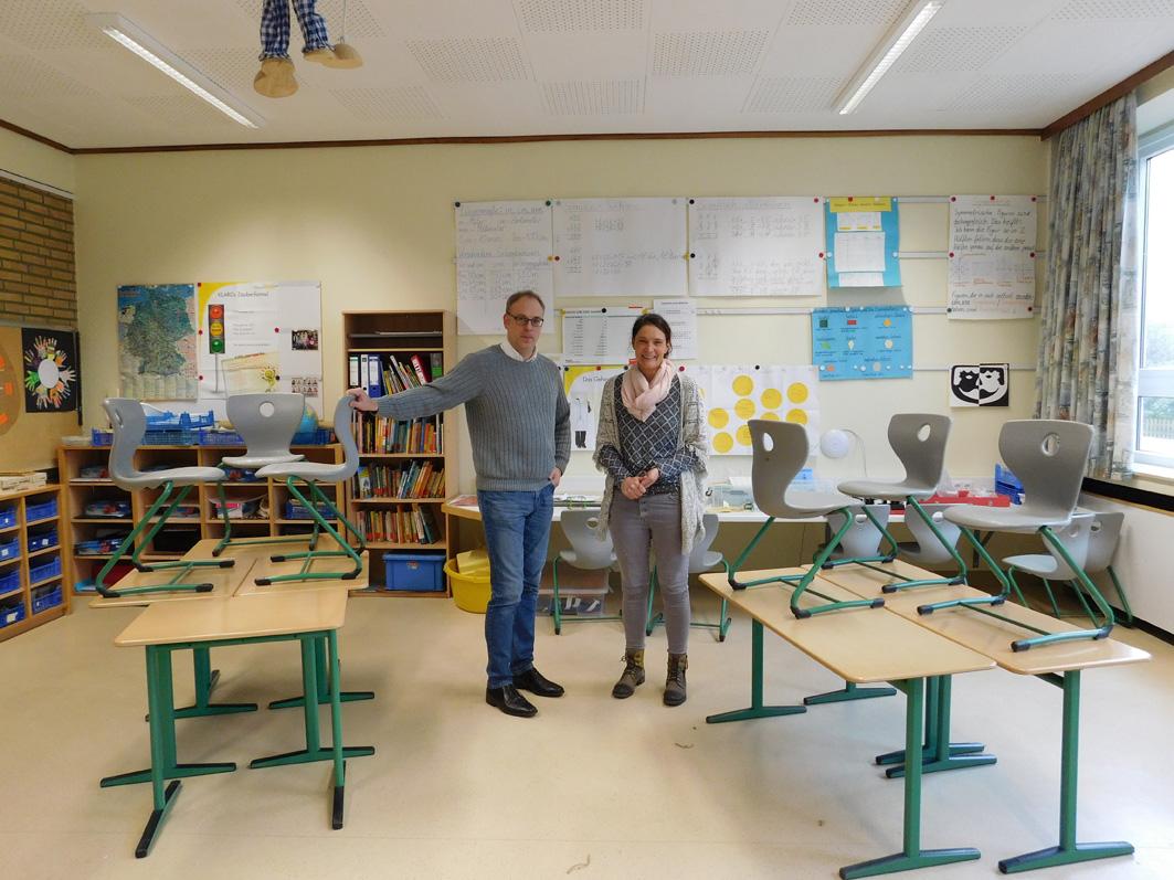 Eggermühlen: Ortstermin in der Grundschule