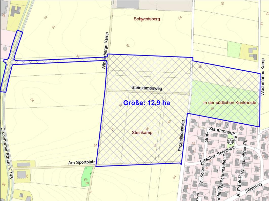 Startschuss für bis zu 150 neue Bauplätze in Ankum