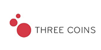 Logo Three Coins