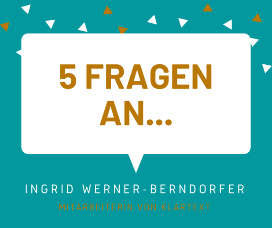 5 Fragen an... Ingrid Werner-Berndorfer