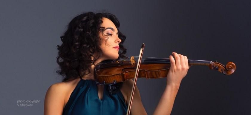 Alena Baeva, Violinist