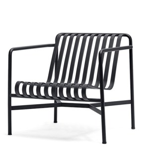 HAY Palissade Lav Lounge Stol - Anthracite