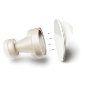 Magnetiske Knager - Hvid
