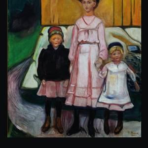 Three children - Edvard Munch