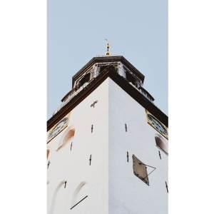 BOBO X BRANDT A Aalborg plakat af Budolfi kirke (flere størrelser) 100x70