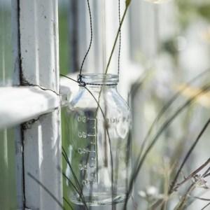 Flaske/ vase m/ wire - Ib Laursen - Lille 100 ml