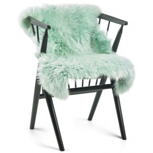 Natures Collection long wool Lammeskind - mint