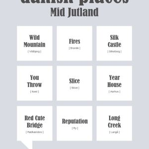 Danish Places - Mid Jutland