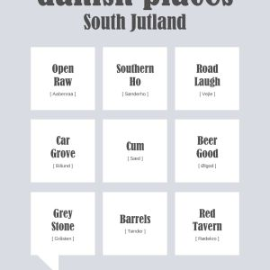 Danish Places - South Jutland