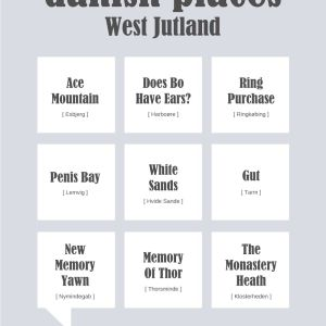 Danish Places - West Jutland