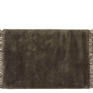 Nordal Noble tæppe - 60x90 - varmgrå