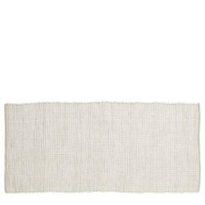 House Doctor Chindi tæppe - 160x70 - hvid