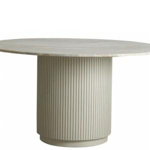 Nordal Erie spisebord - hvid marmor - 140