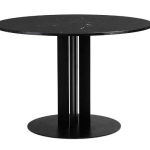 Normann Copenhagen Scala Bord Ø150 Black marmor