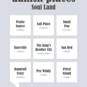 Danish places - Soul Land Plakat