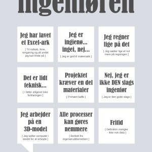 Ingeniøren Plakat