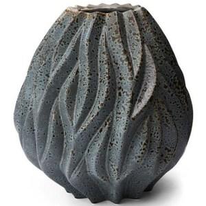 Morsø Flame vase - grå - stor