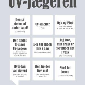 UV-jægeren plakat