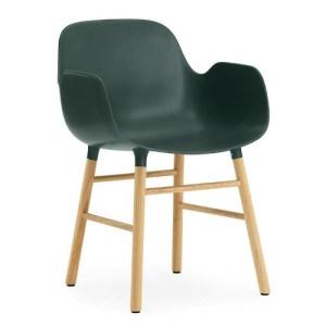 Normann Copenhagen Form armchair Green - Eg