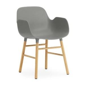 Normann Copenhagen Form armchair Grey - Eg
