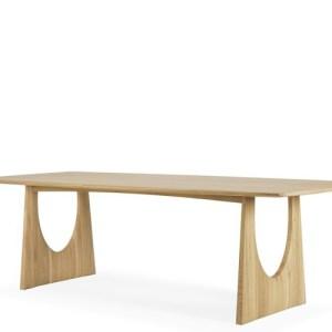Ethnicraft Geometric spisebord - oak - 250