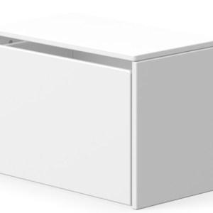 Flexa Dots opbevaringsbænk - hvid