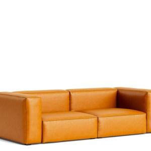 HAY Mags Soft Sofa - 2 1/2 Pers. - Cognac Sense Læder