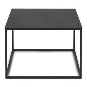 SPINDER DESIGN Store sofabord - sort stål (60x60)
