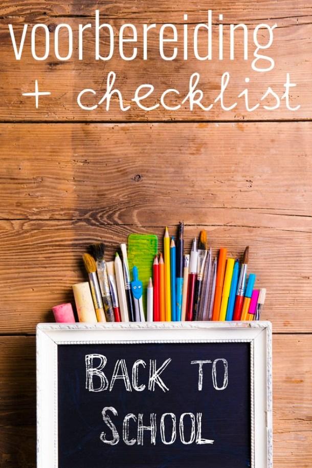 Back2school: voorbereiding nieuw schooljaar