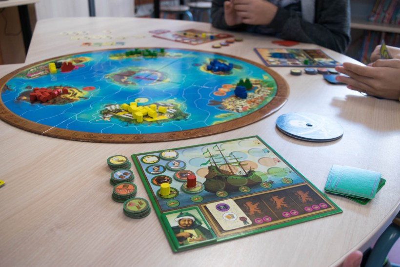 Spel: Captains of the golden Age