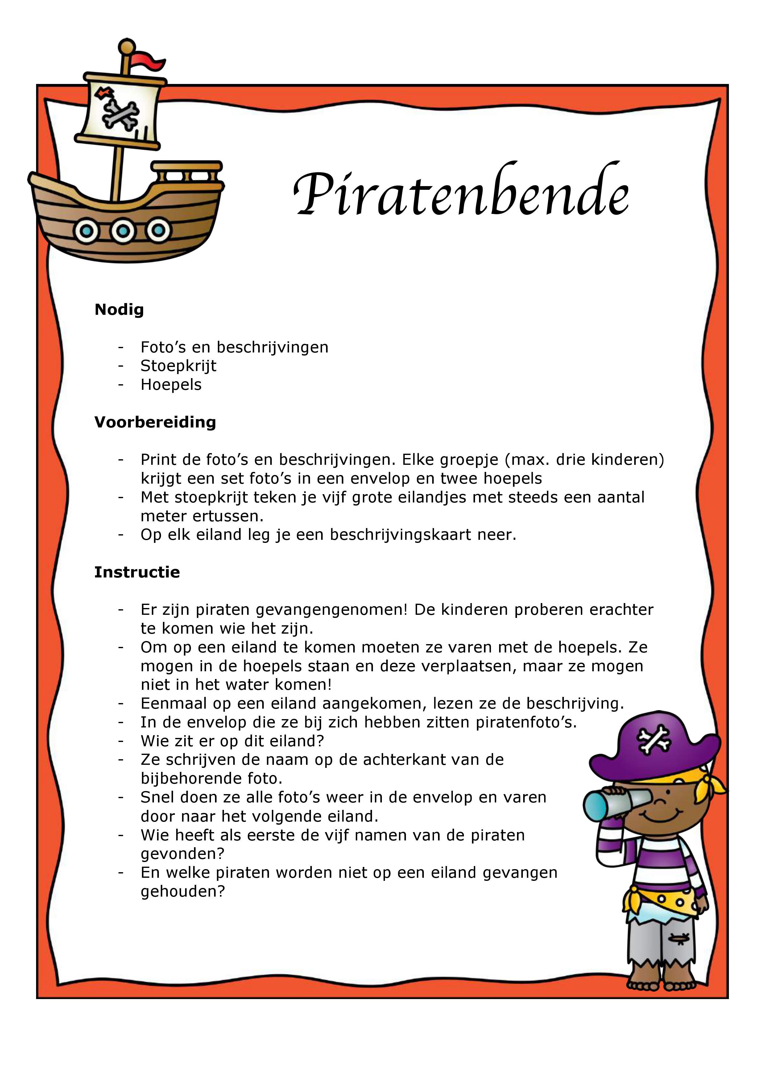 Taalspel piraten