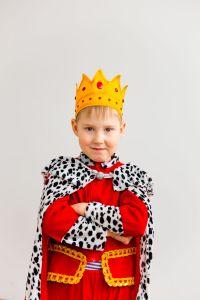Thema prinsen en prinsessen - Koningsdag