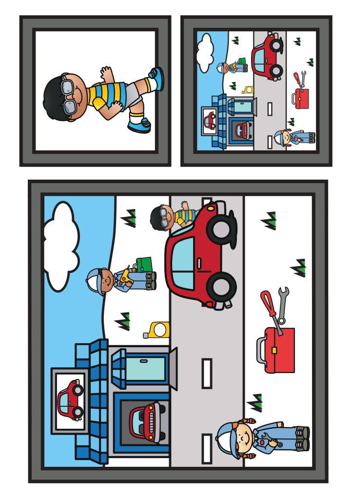 Thema vervoer; spellenpakket voor kleuters