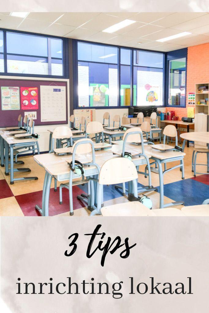 3 tips voor het inrichten van je klaslokaal